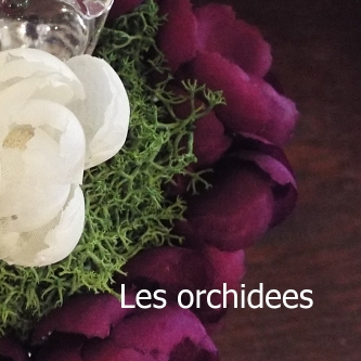 flower arragement paris silk